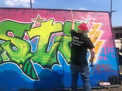 RebornK grafiti wall