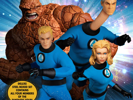 One:12 Collective Fantastic Four Deluxe Steel Boxed Set