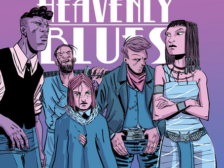 The Mystical Heist Mash-Up From Beyond The Grave HEAVENLY BLUES Title Box Is Now Available!