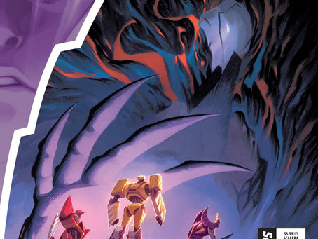 The Fate of the Entire Planet at Stake in POWER RANGERS #8