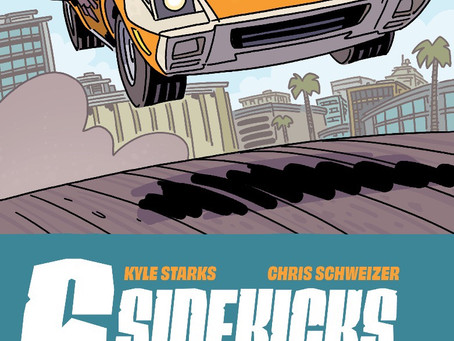 KYLE STARKS & CHRIS SCHWEIZER DELIVER THE BEST CAR CHASE IN COMICS EVER!