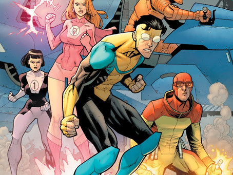 ROBERT KIRKMAN'S INVINCIBLE SHOWS OFF TV ADAPTATION ART ON A NEW VARIANT COVER