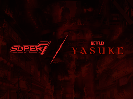 SUPER7 TO RELEASE COLLECTIBLE FIGURES FOR NETFLIX'S YASUKE AND EDEN ORIGINAL ANIME SERIES