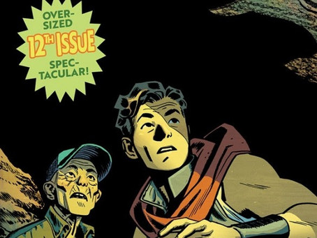THE MONUMENTAL FIRE POWER BY KIRKMAN & SAMNEE ONE YEAR ANNIVERSARY ISSUE IS HERE