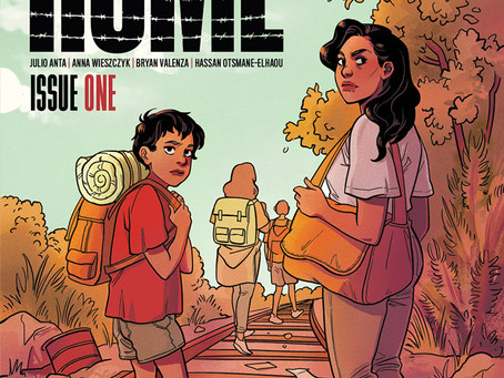 COMIC BOOK SERIES HOME TO EXPLORE US IMMIGRATION POLICY & BORDER PATROL THROUGH SUPERHUMAN LENS