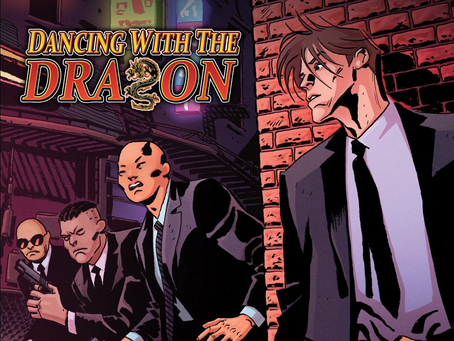 DANCING WITH THE DRAGON From Scout Comics Is NOW AVAILABLE!