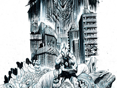 JAMES HARREN'S ULTRAMEGA CONTINUES TO DOMINATE WITH ISSUE #1 RUSHING TO THIRD PRINTING