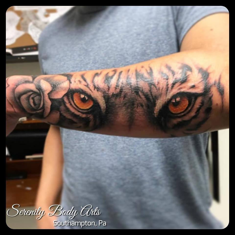 Tiger Eyes and Rose