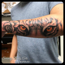 Tiger Eyes and Rose