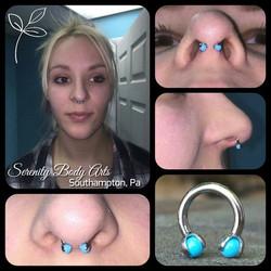 Septum Piercing.