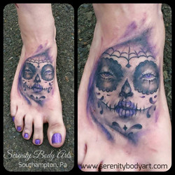 Day of the Dead Lady