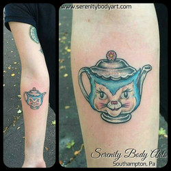 Kitty Teapot