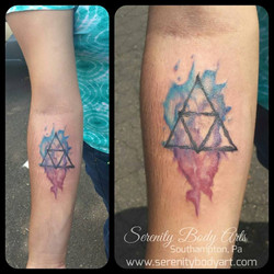 Watercolor Triforce