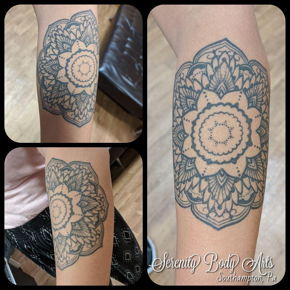 Healed Mandala Tattoo