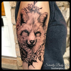 Fox and Floral