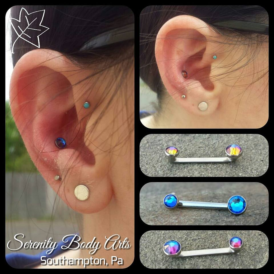 Fresh Conch/Healing Forward Helix