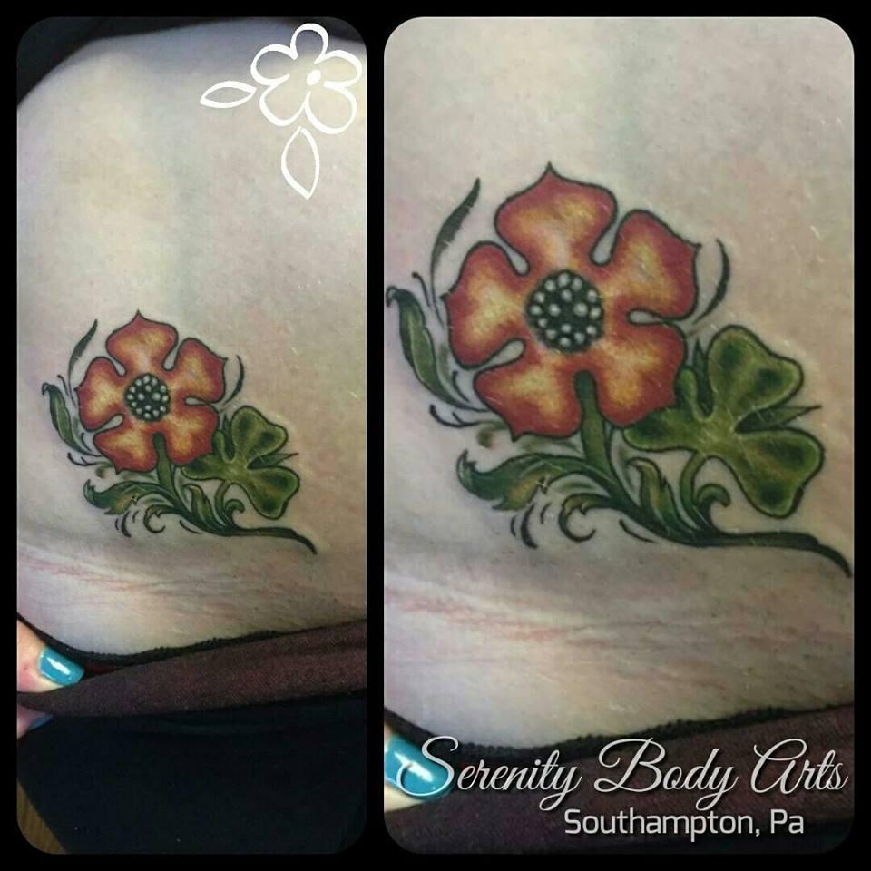 Tudor Rose Shamrock