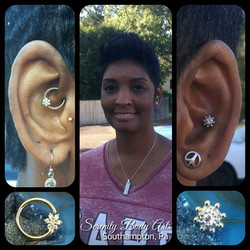 Daith and Conch Piercings