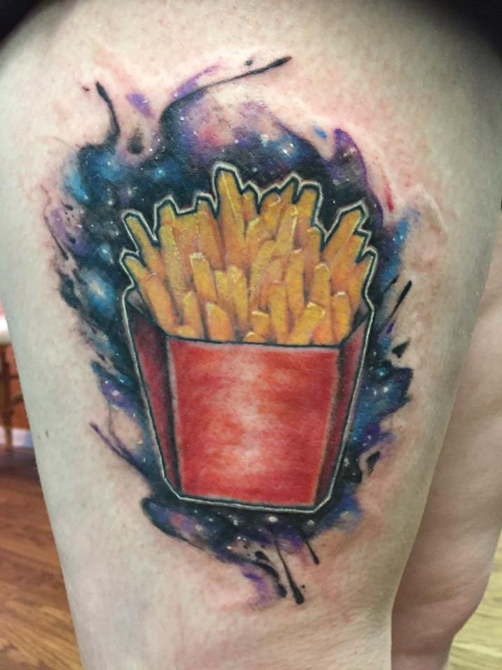 Galaxy French Fries