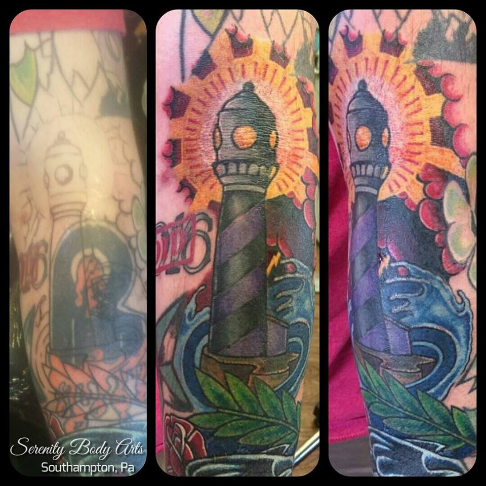 Lighthouse Cover Up