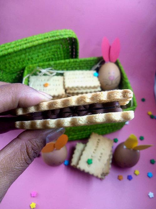 Double biscuit au chocolat
