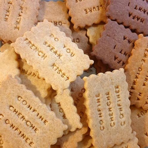"Biscuits ""mochi mochi"""