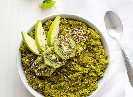 St. Patrick's Day Oatmeal