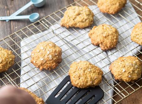 Oat Sugar Cookies