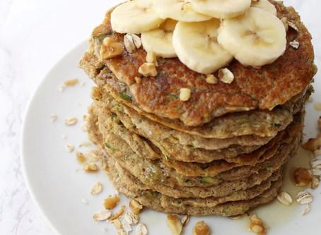 Banana Smoothie Pancakes