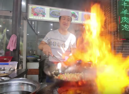 Chinese Street Food Tour in Xi'an, China