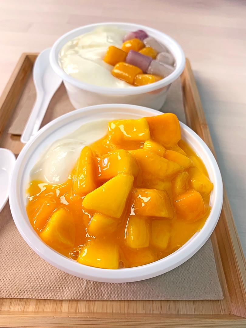 Mango Tofu Pudding