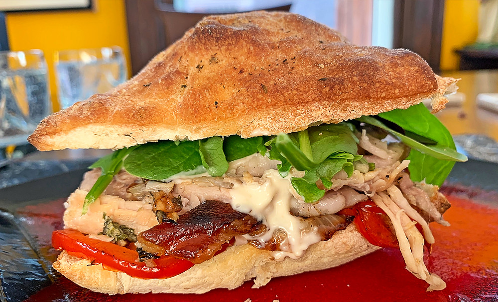 Leftover porchetta sandwich recipe
