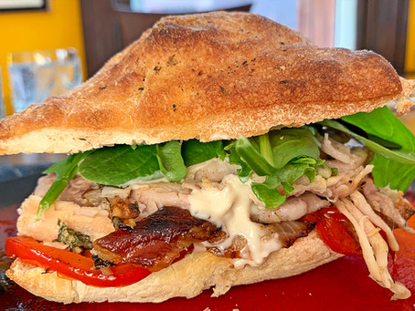 Leftover Porchetta Sandwich