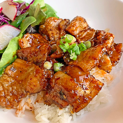 Spicy BBQ Pork Rice