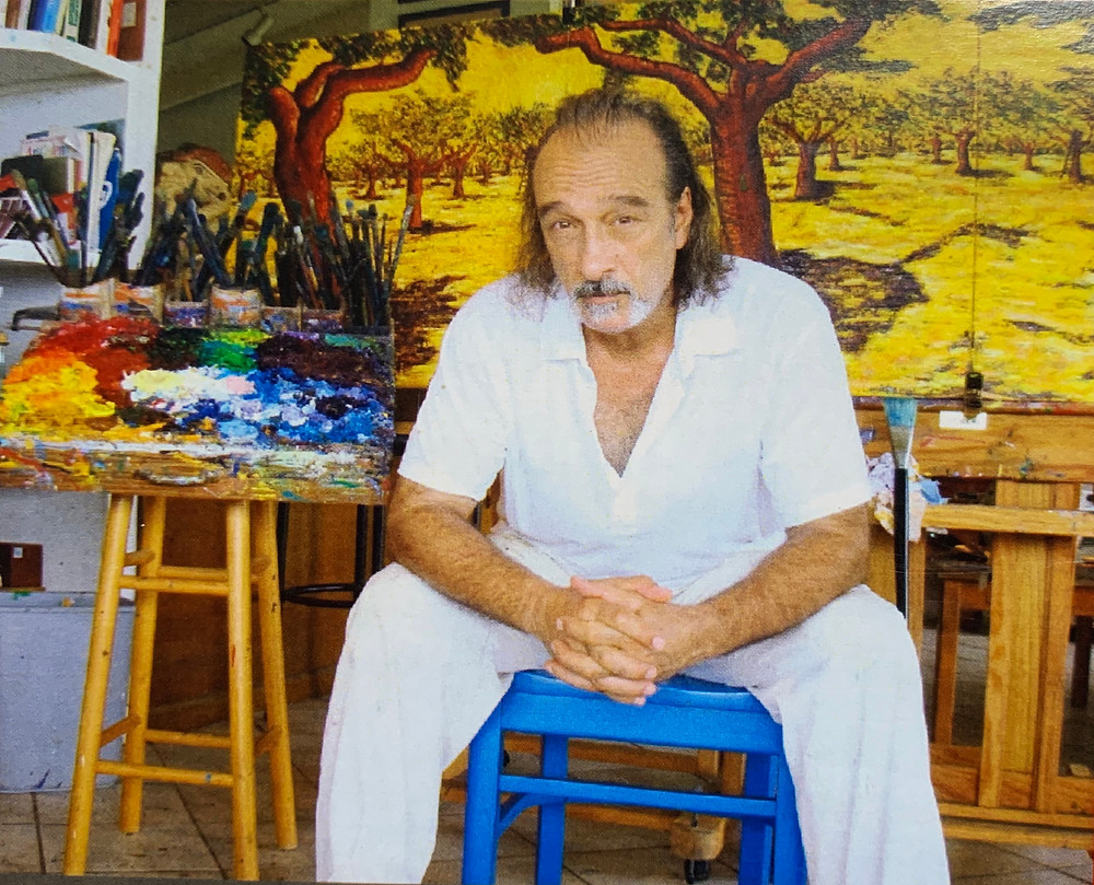 Tony Romano, Chef and Artist, St. Thomas, Virgin Islands