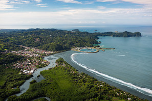 The town of Quepos