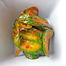 Spicy Marinated Cucumber
