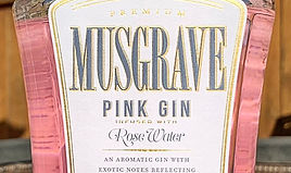 Rose Water Gin, South Africa, Muscgrave