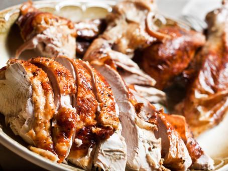 One Turkey, 2 People: Let The Challenge Begin