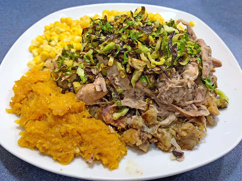 Leftover Roasted Turkey Recipe