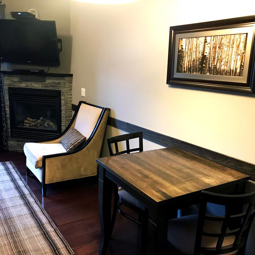 Living Room: Grand Rocky Resort - Canmore Alberta