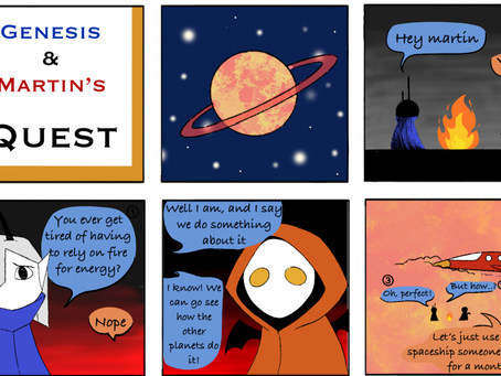 Comic Relief with a Sciencey Twist!