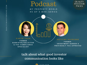 What good investor communication looks like (#3 of 3)