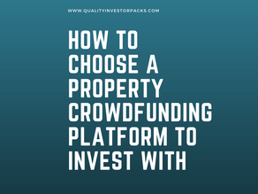How to choose a property crowdfunding platform to invest with