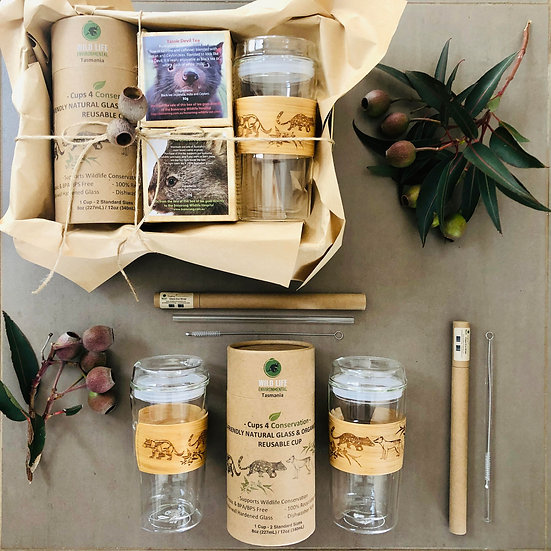 Taste of Tasmania - Wildlife Tea Pack (Single Cup)