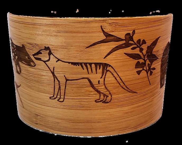 Bamboo Thermal Band with Tasmanian Animal Print