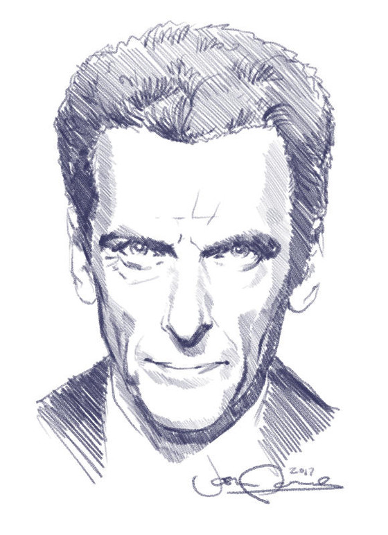 The Doctor and Digital Sketching