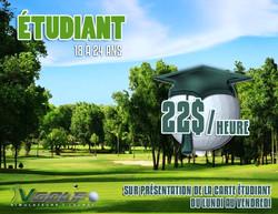 Promotion pour les étudiants