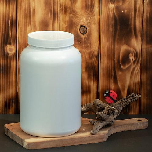 Contenant Blanc 2000 ml