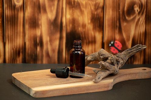 Bouteille de Verre Ambré 30 ml Pipette